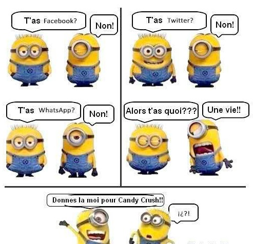 image marrante minion