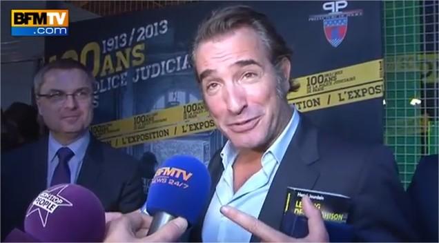 Jean dujardin r gle ses comptes avec la presse people et for Copine jean dujardin