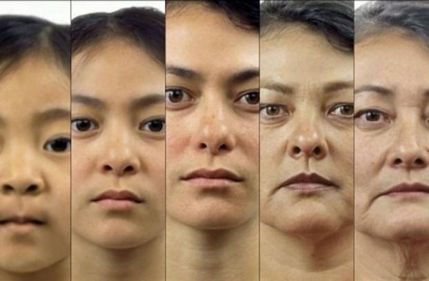 Фото как меняется человек с возрастом