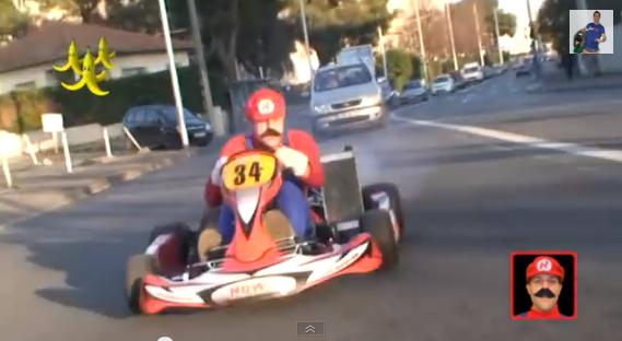 image drole karting