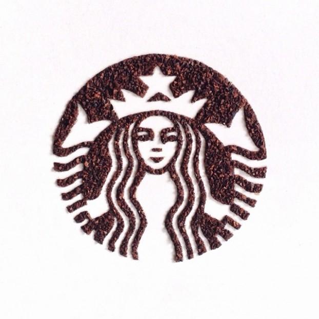 Liv-Buranday-artiste-dessin-avec-grains-de-cafe-incroyable-1