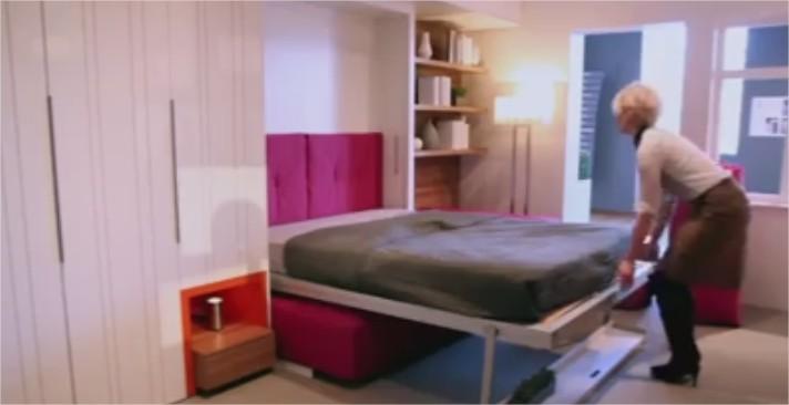 10 astuces pour am nager des petits espaces vid os mdr. Black Bedroom Furniture Sets. Home Design Ideas