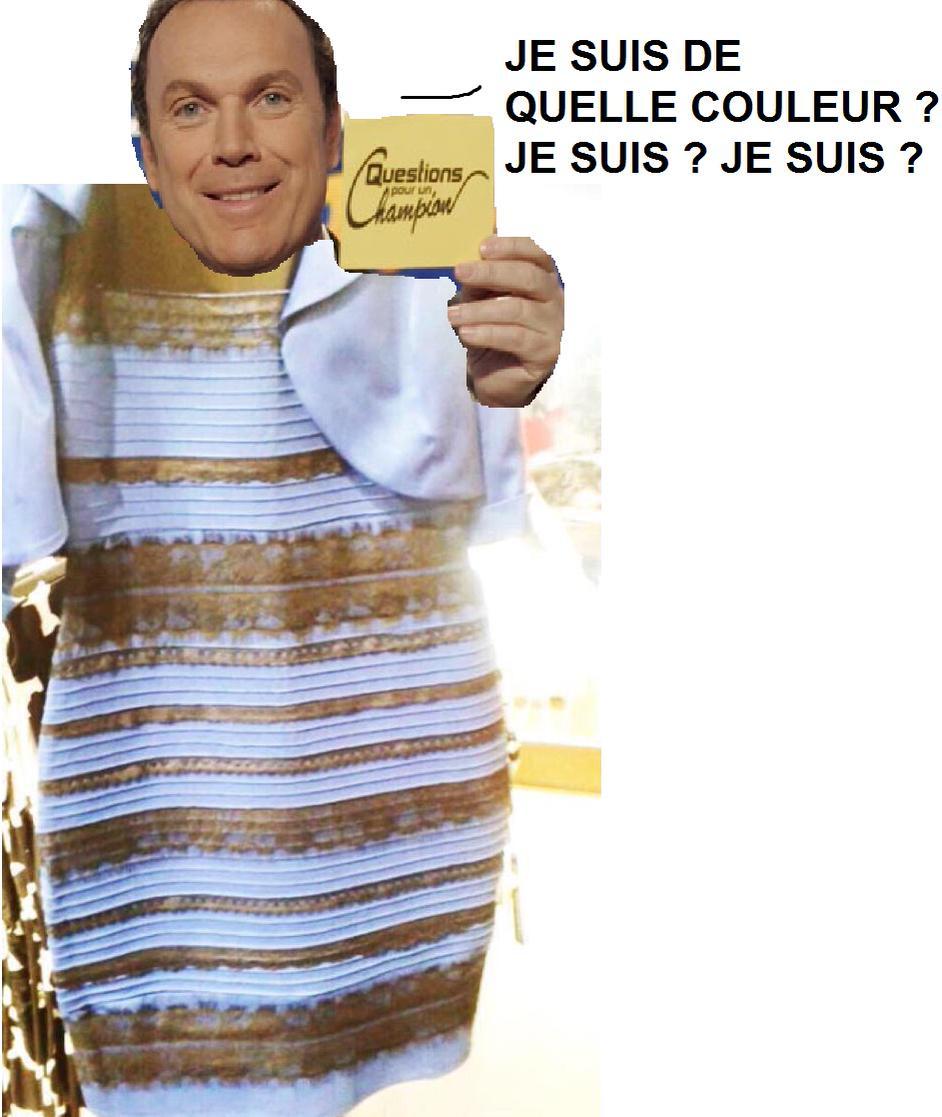 5a189c7b6f72 Robe couleur bleu ou blanc robe noir et bleu