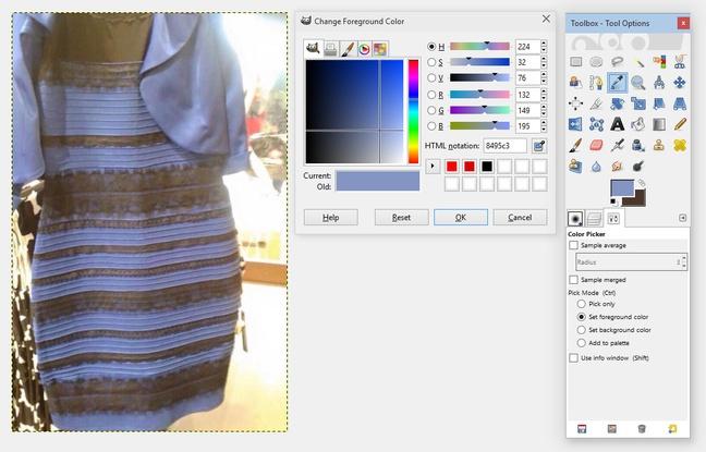 Buzz : La couleur de cette robe rend fou les internautes...