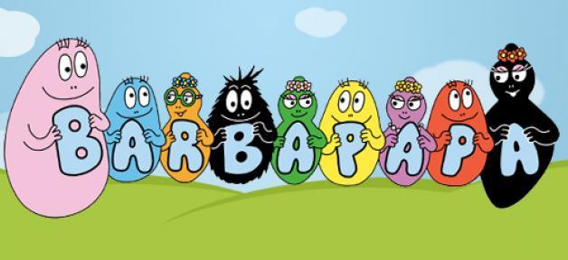Le doodle de google f te les 45 ans des barbapapa - Barbapapa dessin anime gratuit ...