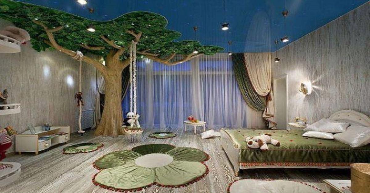 les plus belles chambres d 39 enfants qui vous donneront envie d 39 avoir 5 ans. Black Bedroom Furniture Sets. Home Design Ideas