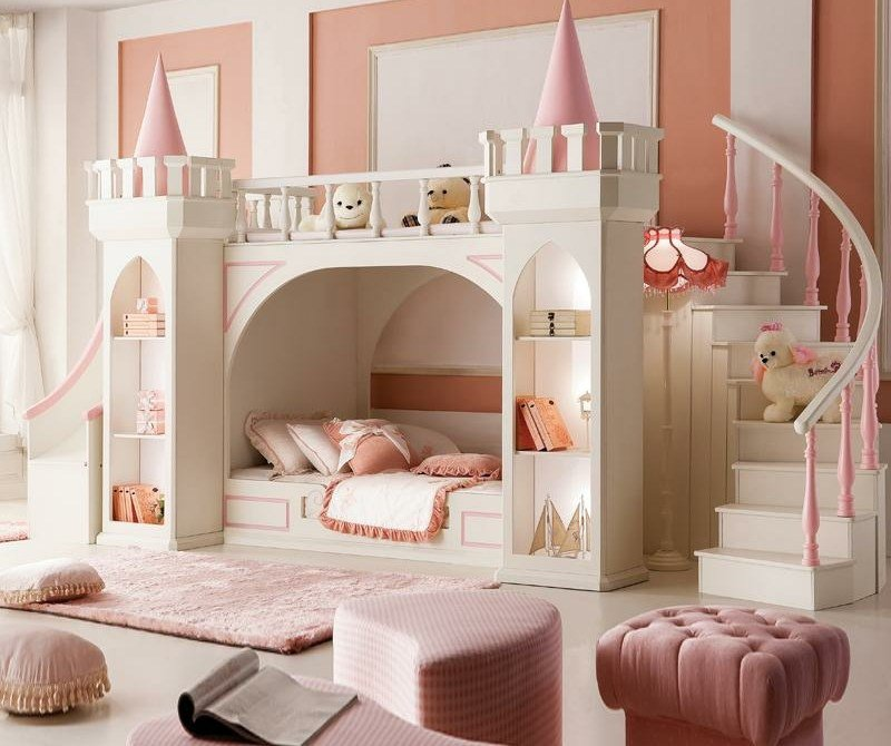 les plus belles chambres d 39 enfants qui vont vous donner. Black Bedroom Furniture Sets. Home Design Ideas