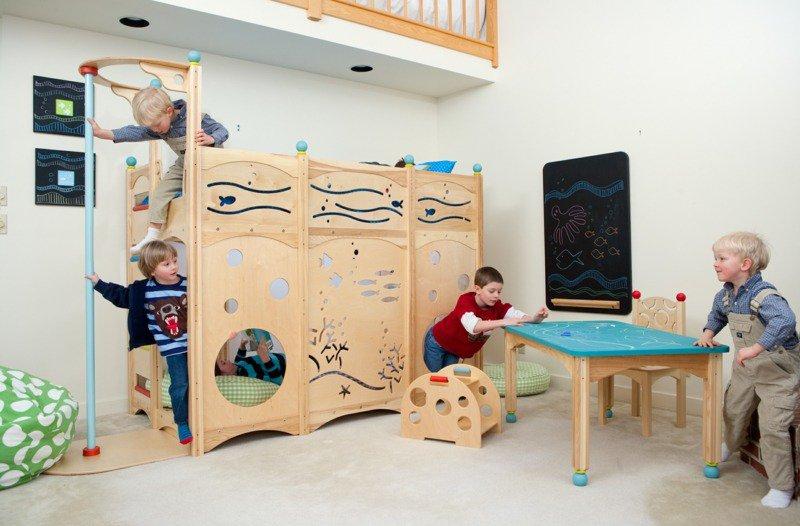 Les plus belles chambres d 39 enfants qui vous donneront - Lit enfant une personne ...