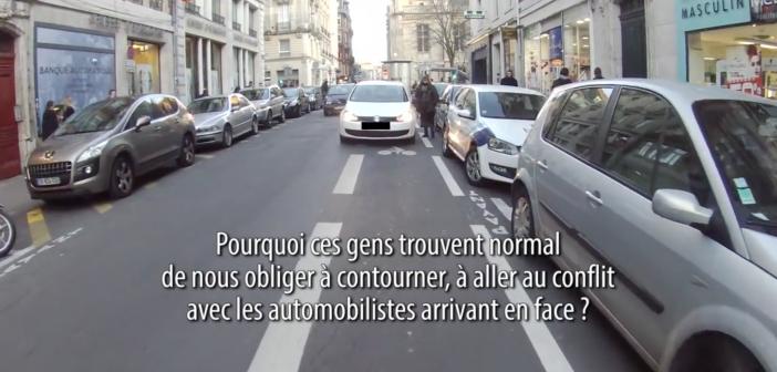 Un cycliste se révolte contre les incivilités des automobilistes