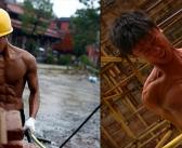 Chine : Shi Shenwei, l'ouvrier musclé qui rêve d'un avenir à Hollywood