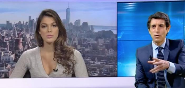 Miss Univers met un vent à Thomas Misrachi en direct sur BFMTV