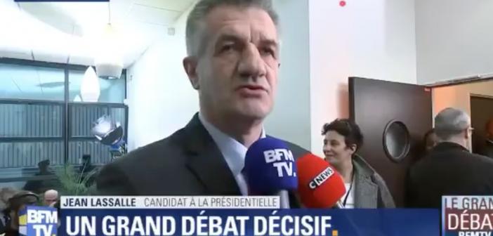 Elections : Jean Lassal s'explique sur son arrivée en retard lors du débat