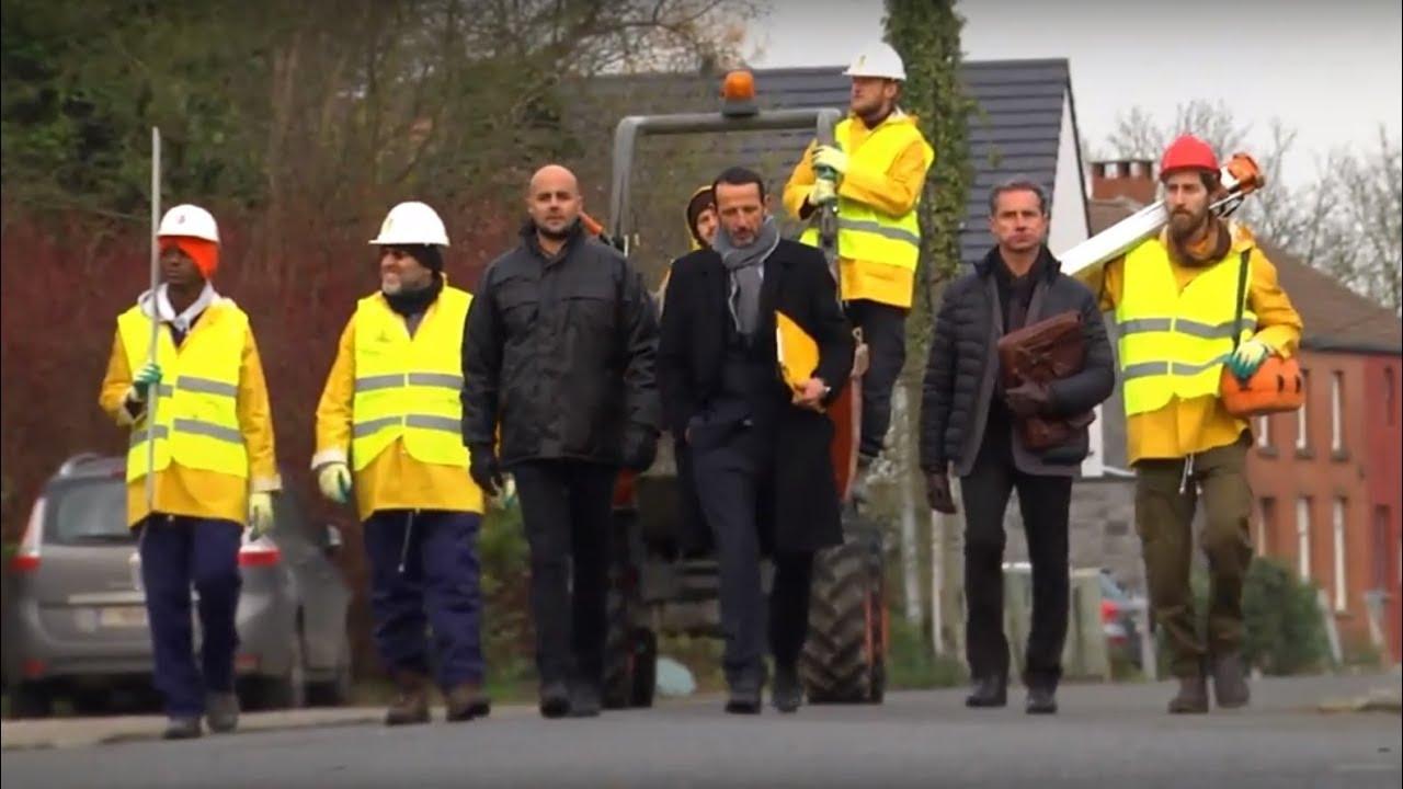 Des Belges expulsés de chez eux