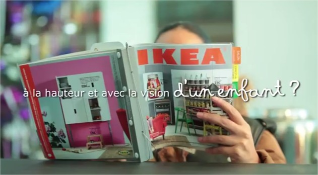 ikea r alise une exp rience incroyable la gare de lyon paris vid os mdr. Black Bedroom Furniture Sets. Home Design Ideas