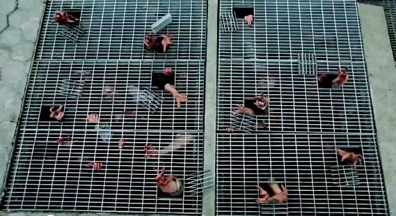 camera-cachee-pub-nouvelle-saison-serie-the-walking-dead-new-york-zombies-sous-grilles-2
