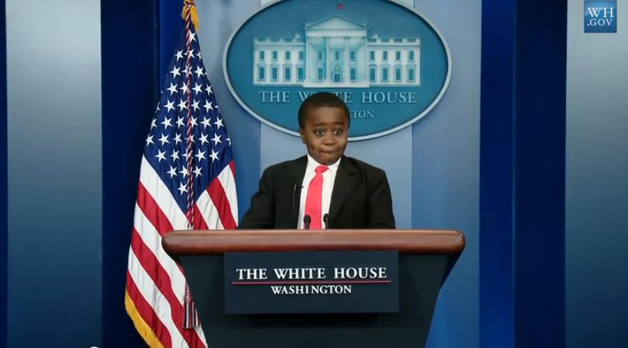 Blague poisson avril de barack obama kids president petit - Poisson marrant ...