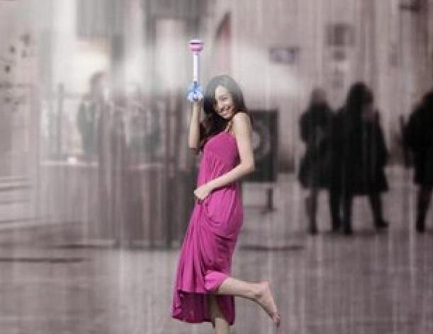 meilleur authentique 36ab9 f05e9 Innovation : Ce parapluie magique & invisible protège de l ...