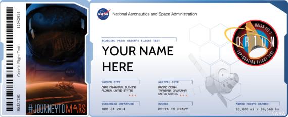 billet-pour-planete-mars-ticket-orion-nasa