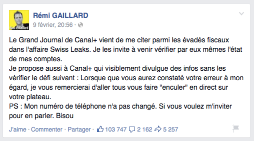 coup-de-gueule-violent-remi-gaillard-facebook-swiss-leaks-canal-grand-journal-1