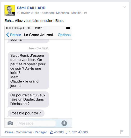 coup-de-gueule-violent-remi-gaillard-facebook-swiss-leaks-canal-grand-journal-2
