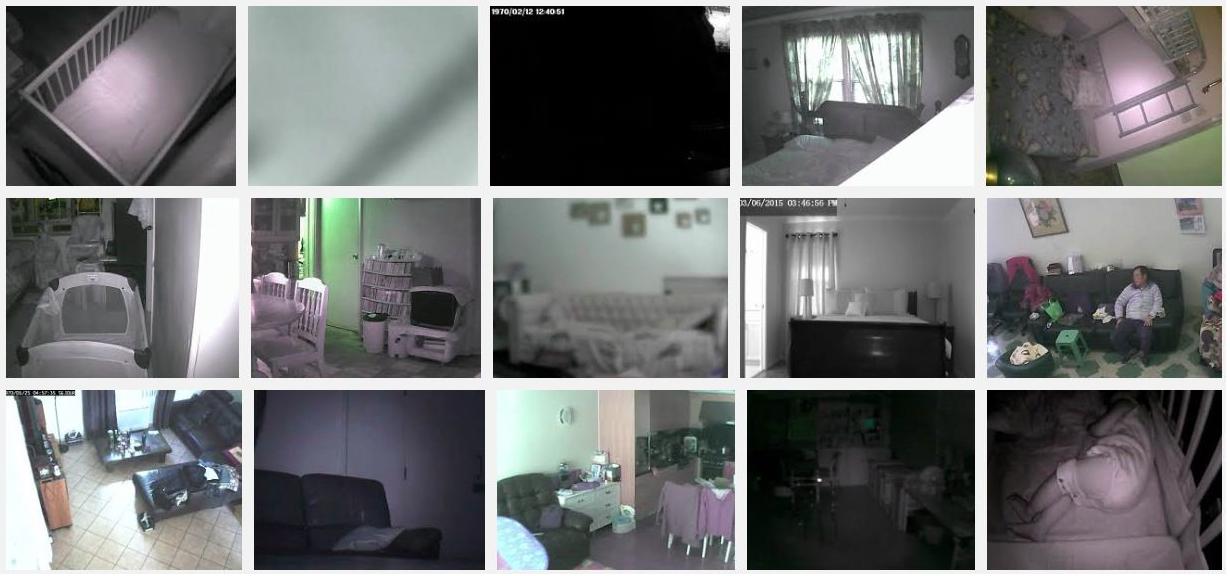 des parents entendaient des bruits tranges la nuit dans la chambre de leur b b ce qu 39 ils. Black Bedroom Furniture Sets. Home Design Ideas