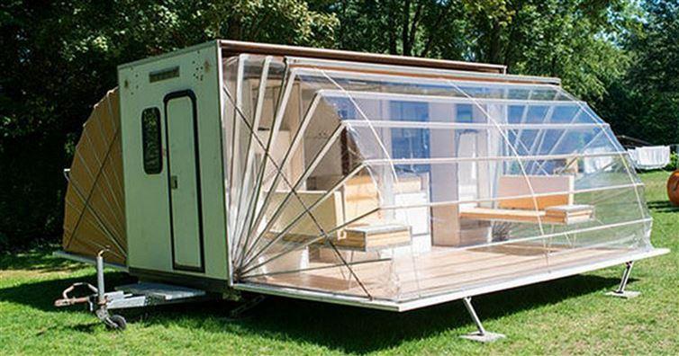 la caravane parfaite pour vos vacances qui va vous r concilier avec le camping. Black Bedroom Furniture Sets. Home Design Ideas