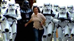 Camera Cachee Star Wars : Camera cachee star wars armee stormtrooper dark vador attaquent