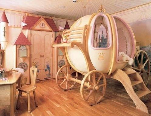 Merveilleux Top Plus Belles Chambres Enfant  Insolite Reve Magnifique Idee Decoration Carrosse Princesse 12