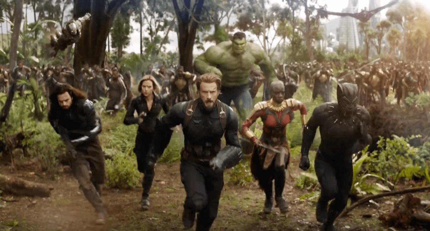 This Lebron James Avengers Infinity War Trailer Is: Le Premier Trailer D'Avengers : Infinity War Et Là Et Il