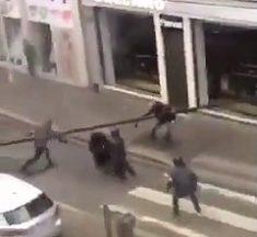 Un lycéen fonce sur un policier en mini moto à Mulhouse