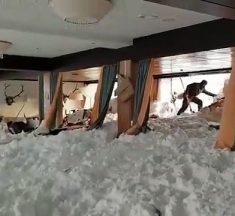 Frayeur en Autriche : une avalanche s'engouffre dans un hôtel !